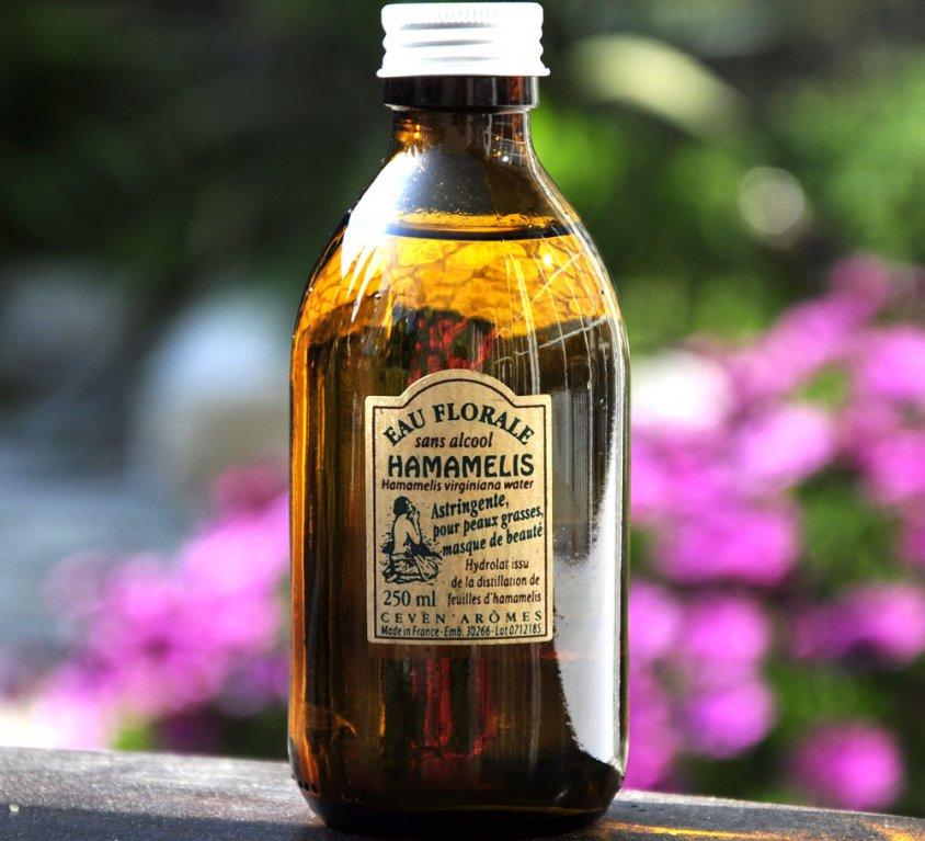 Eau Florale d'Hamamélis – Sans Alcool
