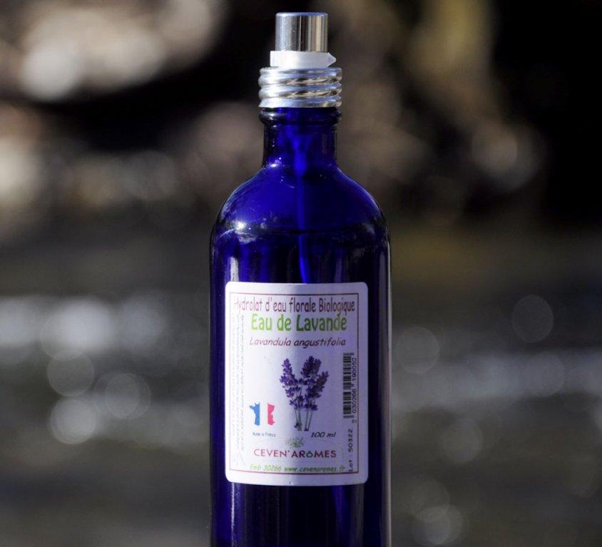 Hydrolat d'Eau Florale de Lavande BIO – Sans Alcool