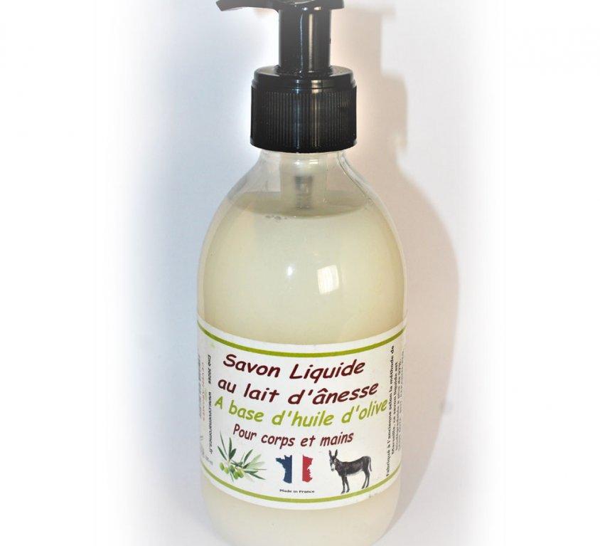 Savon Liquide au lait d'ânesse des Cévennes